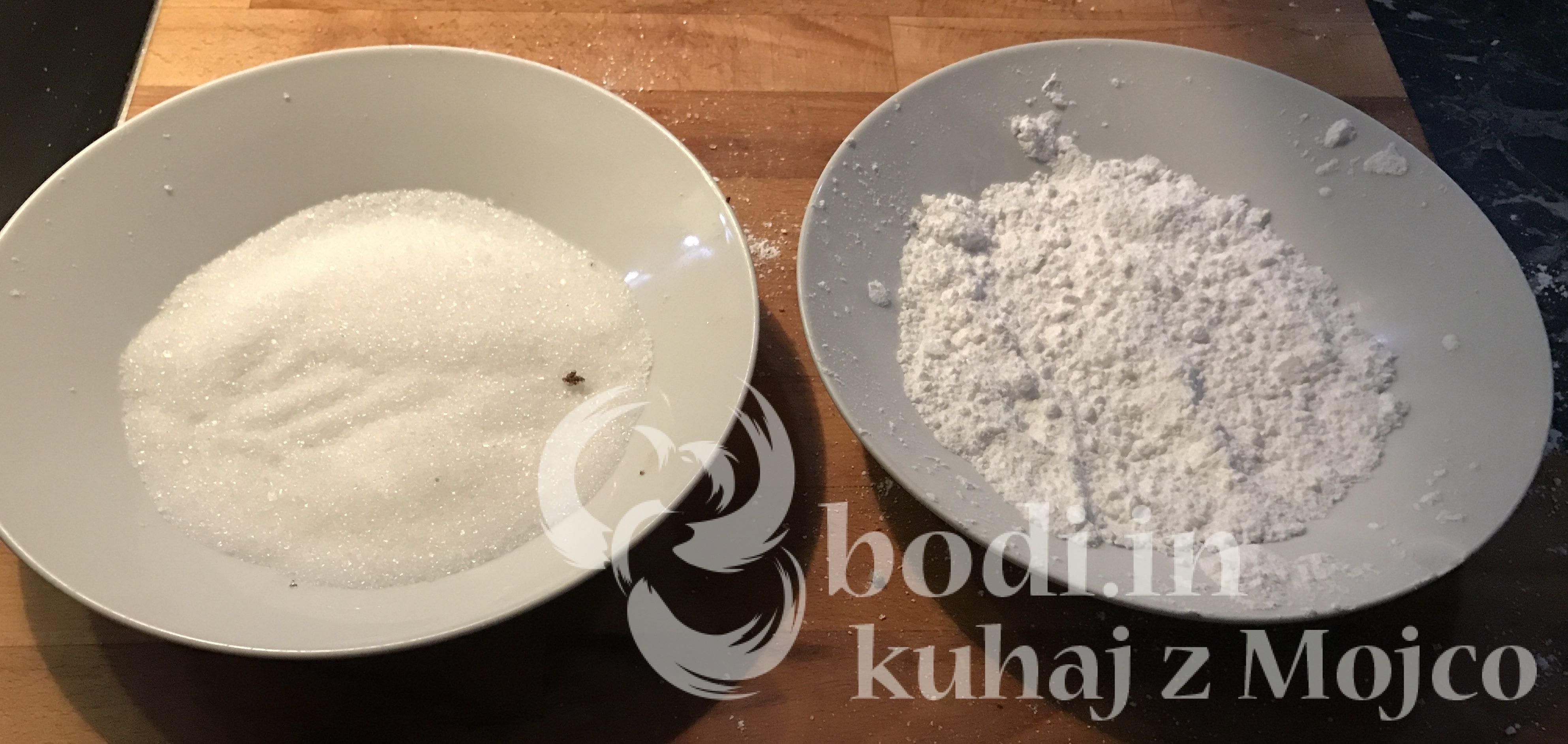 Pripravimo oba sladkorja